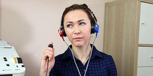 Тональная пороговая аудиометрия